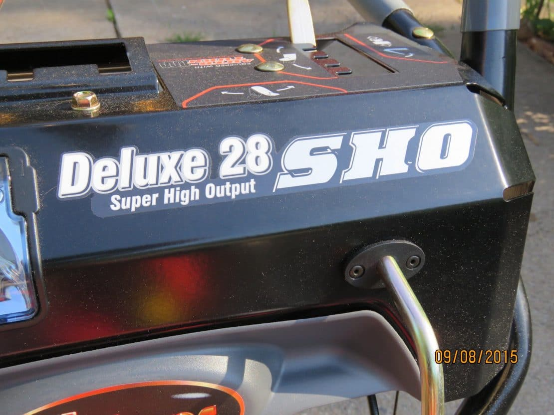 Ariens Deluxe 28 SHO Test with Video Jan 2016