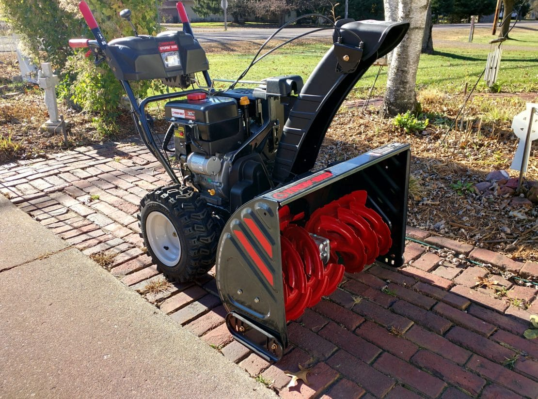 2015 Troy-Bilt Storm 3090 XP, 357 cc, 30 inch, 2-stage Snow Blower Picture Review