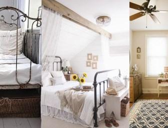 Le lit en fer forgé pour une atmosphère romantique