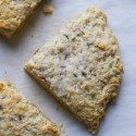 oatmeal scones topped with lavender sugar   movita beaucoup