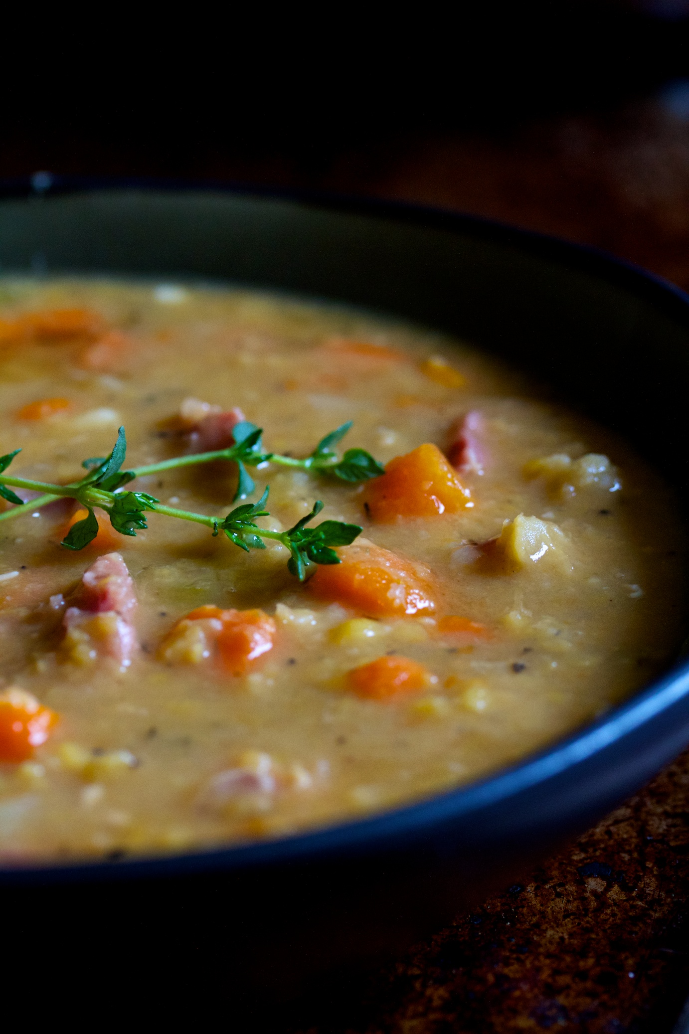 split pea soup | movita beaucoup