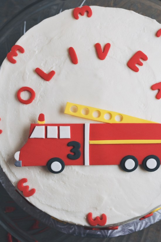fire truck cake | movita beaucoup