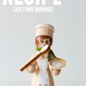 easy fudge brownies | movita beaucoup