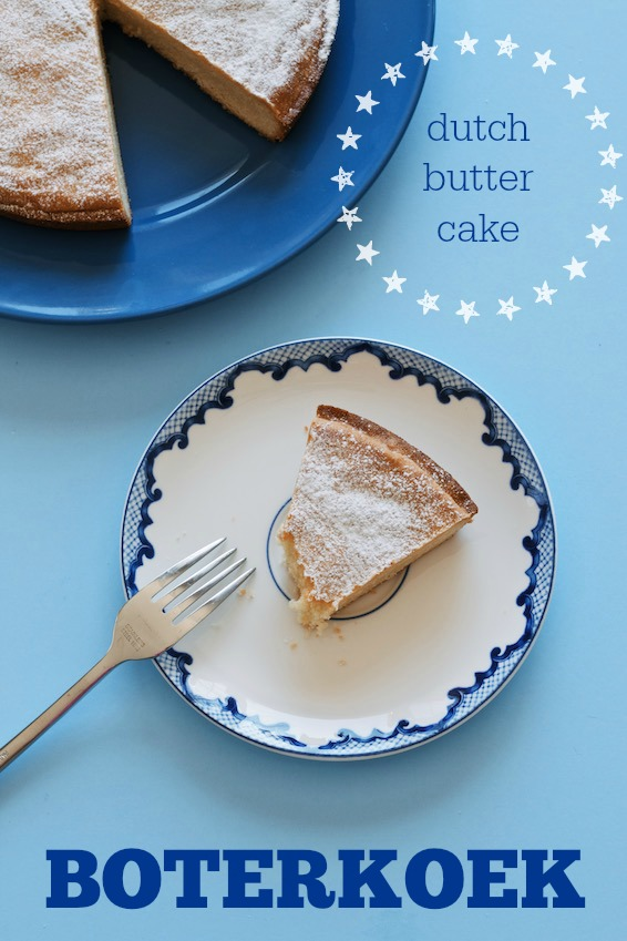 boterkoek {dutch butter cake} | movitabeaucoup.com - a buttery almond flavoured snacking cake