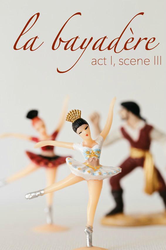 famous ballets explained (kind of) // la bayadère // movita beaucoup