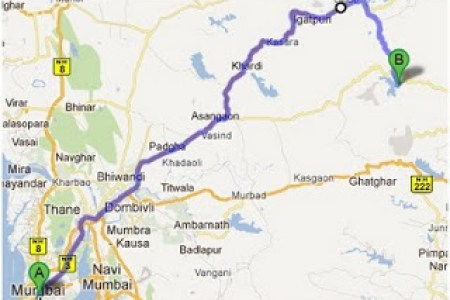 bhandardara valley of treres and a scenic monsoon
