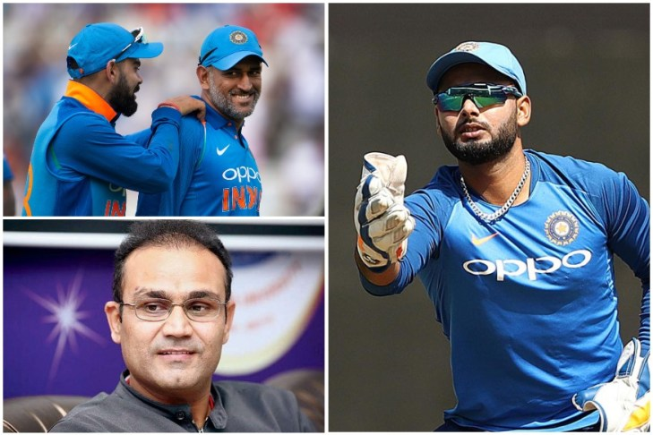 virender-sehwag-unhappy-with-virat-kohli-decision-to-not-giving-chance-to-rishabh-pant-mplive
