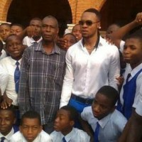 Flavour Rocks His Alma Mater, College of the Immaculate Conception's Uniform, Awards Scholarship