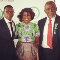 Nollywood Actress & Role Model, Joke Silva Receives National Award on her Birthday