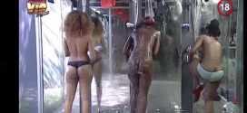 #BBAHotShots: Day 17 Shower Hour with Goitse, Samantha, Ellah : Video [dl]