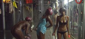 #BBAHotshots Day 11 Shower Hour with Esther, Ellah & Laveda : Video [dl]