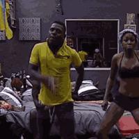 #BBAHotShots: Nigeria's Lilian Goes All Dirty Dancing : Video [dl]