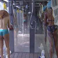 #BBAHotShots: Day 9 Shower Hour with Lilian and Samantha : Video [dl]