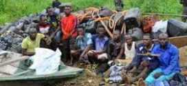 50 Pipeline Vandals Arrested in Ikorodu with Over 3000 Canoes & Jerricans