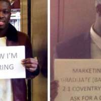 Nigerian Graduate who shared CVs in UK Train Station is now Hiring