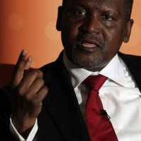 See Photo of Dangote Before & After The Election Results Were Announced