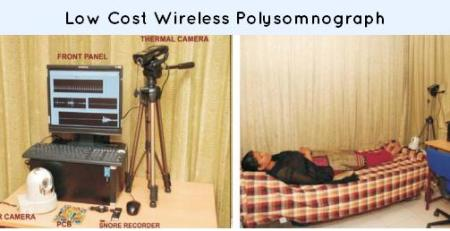 Low Cost Wireless Polysomnograph