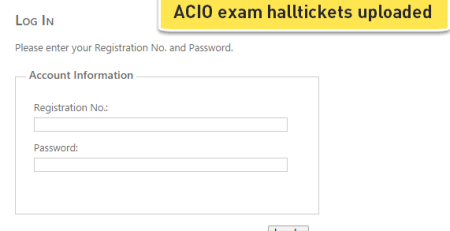 ACIO Hallticket cutoffs