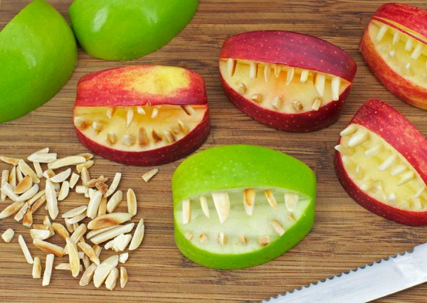 Image result for apple teeth