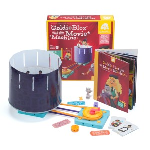 goldieblox movie machine