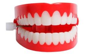 biting teeth