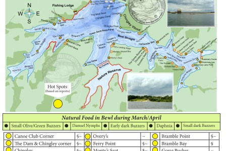 map of bewl water | mr. fisherman a blog about flyfishing