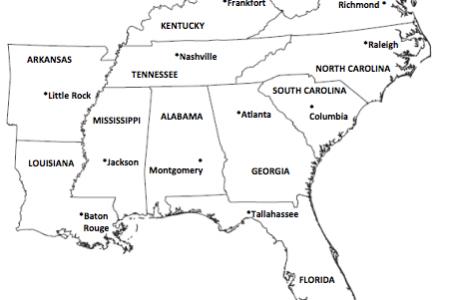 southeastregionmap southeast map 1172238712southeast usa region map20of20southeastbmp 6821787 orig 1043863 orig
