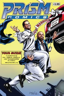 Prism Comics, Jonathan Riggs, editor, Mr. Media Interviews