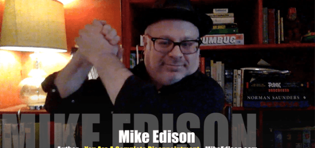 <!-- AddThis Sharing Buttons above --><div class='at-above-post-homepage addthis_default_style addthis_toolbox at-wordpress-hide' data-title='Mike Edison, a complete disappointment? Not here! VIDEO INTERVIEW' data-url='http://mrmedia.com/mike-edison-complete-disappointment-not-video-interview/'></div>http://media.blubrry.com/interviews/p/s3.amazonaws.com/media.mrmedia.com/audio/MM-Mike-Edison-author-You-Are-A-Complete-Disappointment-042516.mp3Podcast: Play in new window | Download (Duration: 47:17 — 43.3MB) | EmbedSubscribe: Android | Email | RSSToday's Guest: Mike Edison, author, You Are A Complete Disappointment, I Have Fun...<!-- AddThis Sharing Buttons below --><div class='at-below-post-homepage addthis_default_style addthis_toolbox at-wordpress-hide' data-title='Mike Edison, a complete disappointment? Not here! VIDEO INTERVIEW' data-url='http://mrmedia.com/mike-edison-complete-disappointment-not-video-interview/'></div>