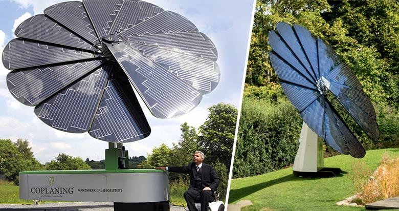Smartflower : la fleur solaire intelligente qui imite la nature