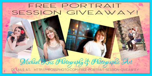 Free Family Portrait Session Giveaway