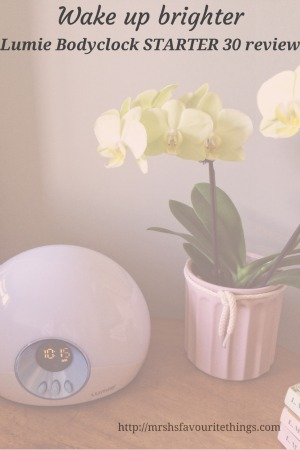 Lumie Bodyclock STARTER 30 review - Wake-up brighter