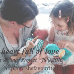 A heart full of love – The Siblings Project – July 2016
