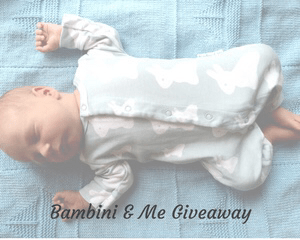 Giveaway with Bambini & Me