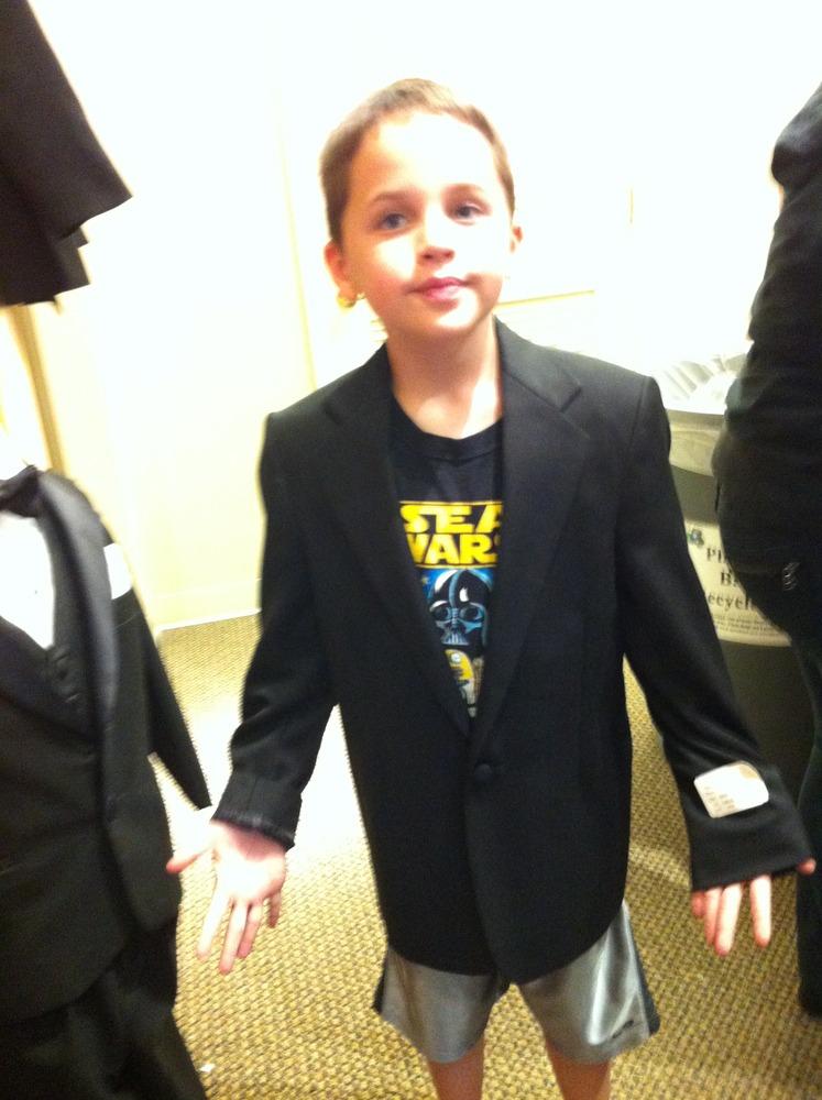Tuxedo Fittings!
