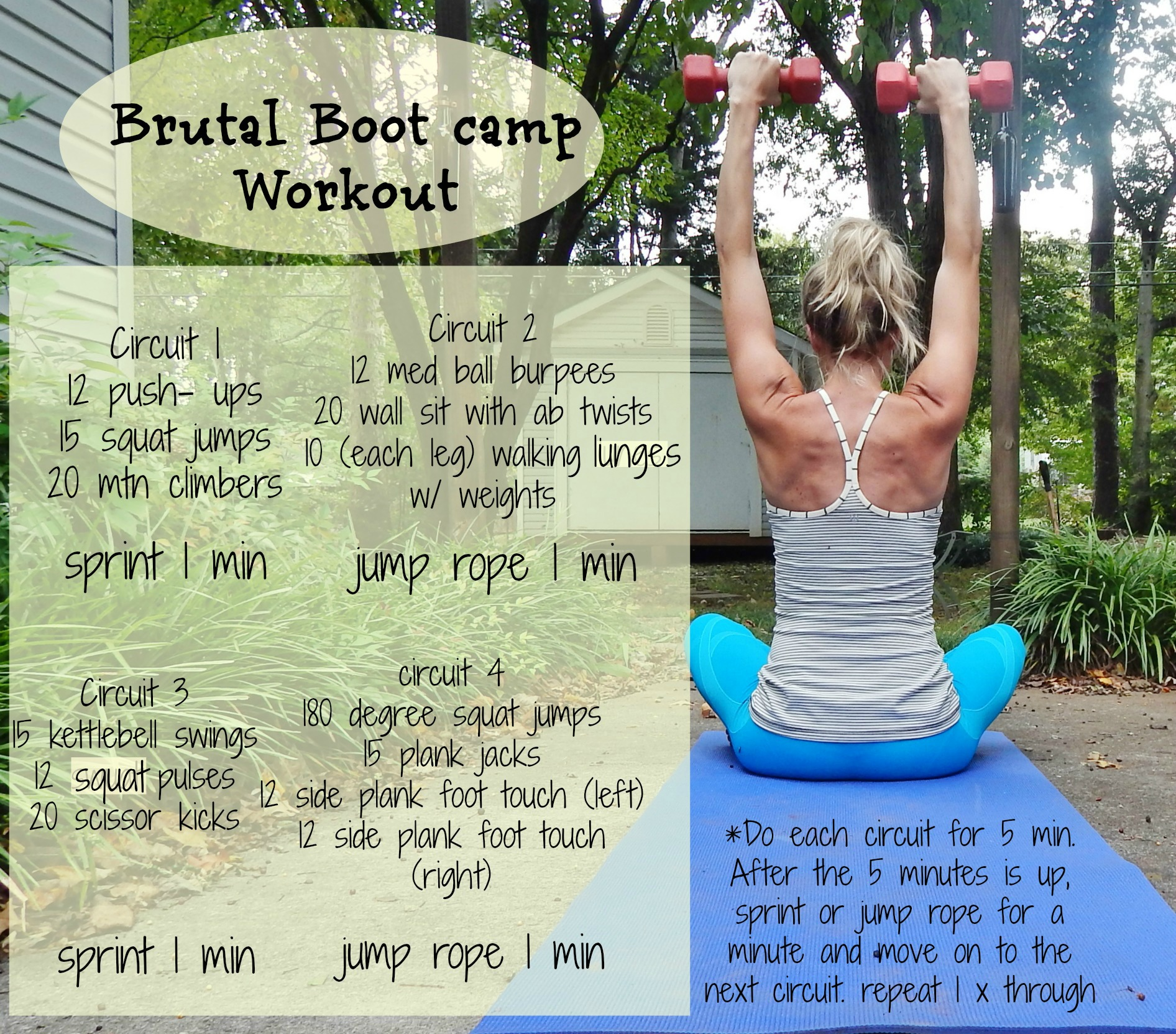 Brutal Boot Camp Workout