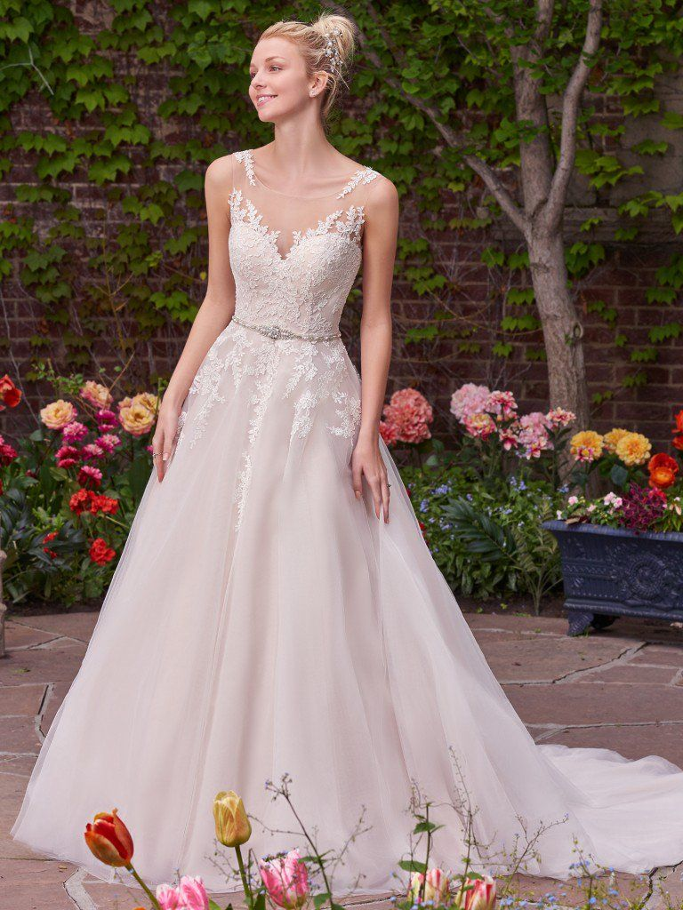 Fullsize Of Pink Wedding Dress