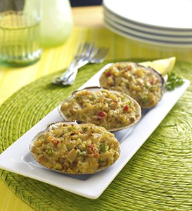 stuffed clam shells sea watch international