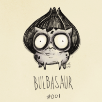 bulbizard tim burton pokemon