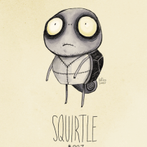squirtle pokemon tim burton