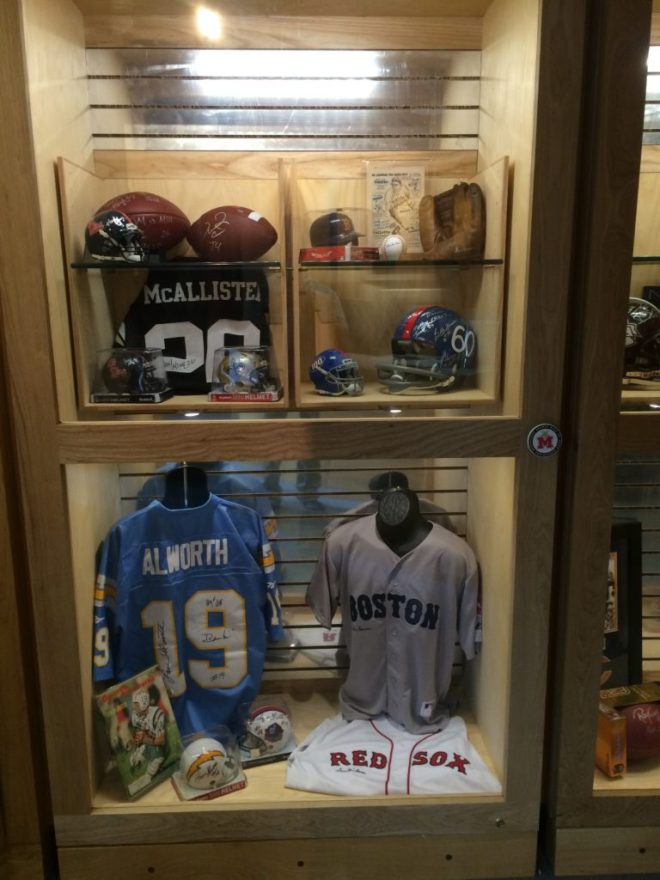 Deuce, Lance, Boo and many more have signed memorabilia at the museum's expanded store.