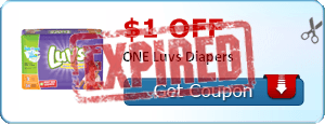 $1.00 off ONE Luvs Diapers