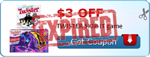 $3.00 off TWISTER SKIP-IT game