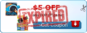 $5.00 off any BOP IT! game