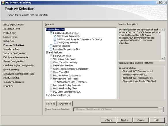 SQL Server Silent  unattended installation using configuration file (2/6)