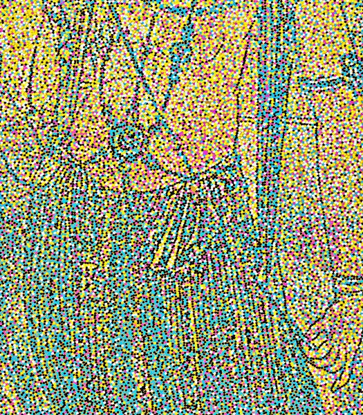 2016, Acrylic on canvas, 86.5 x 27.5in | 220 x 70cm