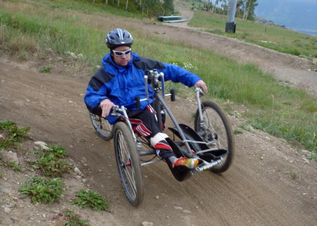 adaptive downhill mountain biking with the Adaptive Sports Center on Crested Butte Mountain
