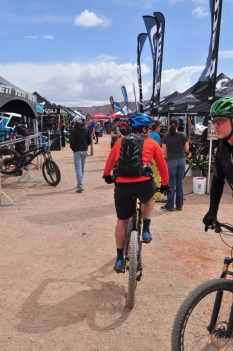 riding around the outerbike moab venue
