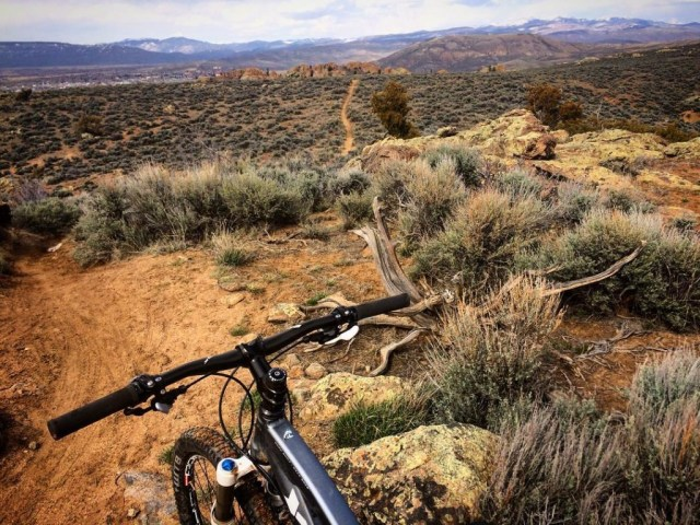 hartman rocks mountain biking gunnison