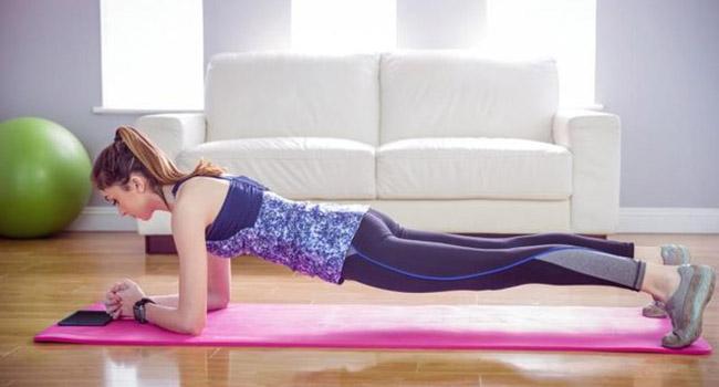 Варианты упражнения планка